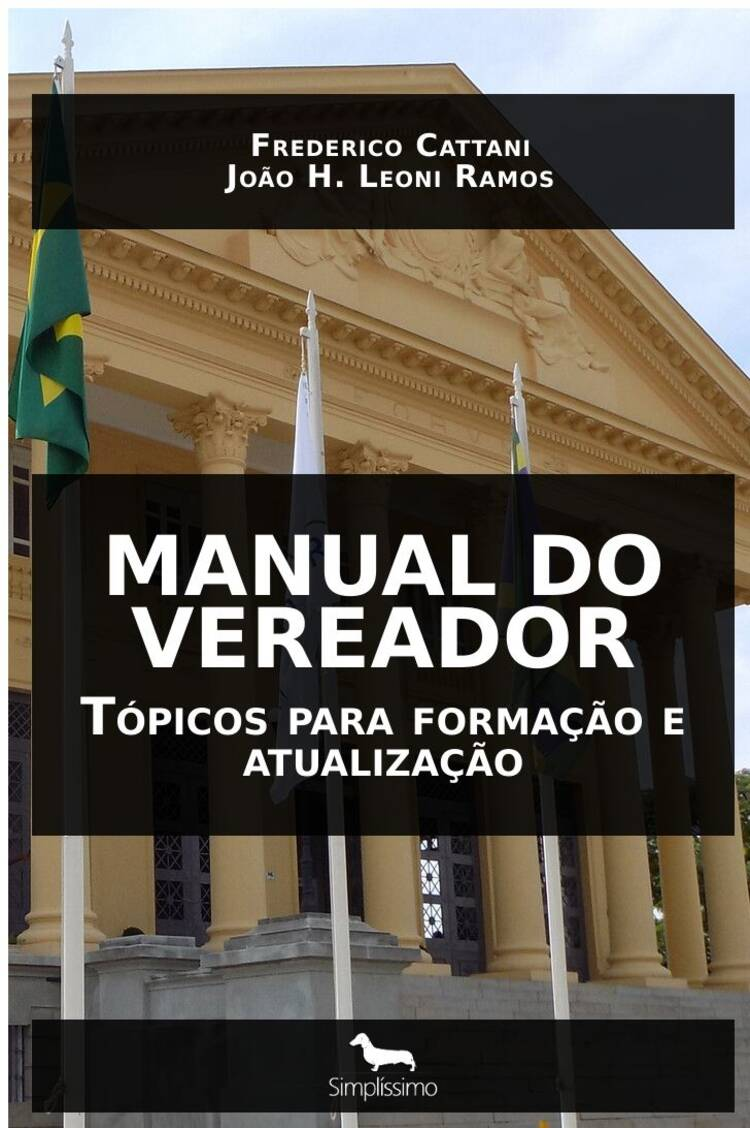 Capa do ebook MANUAL DO VEREADOR
