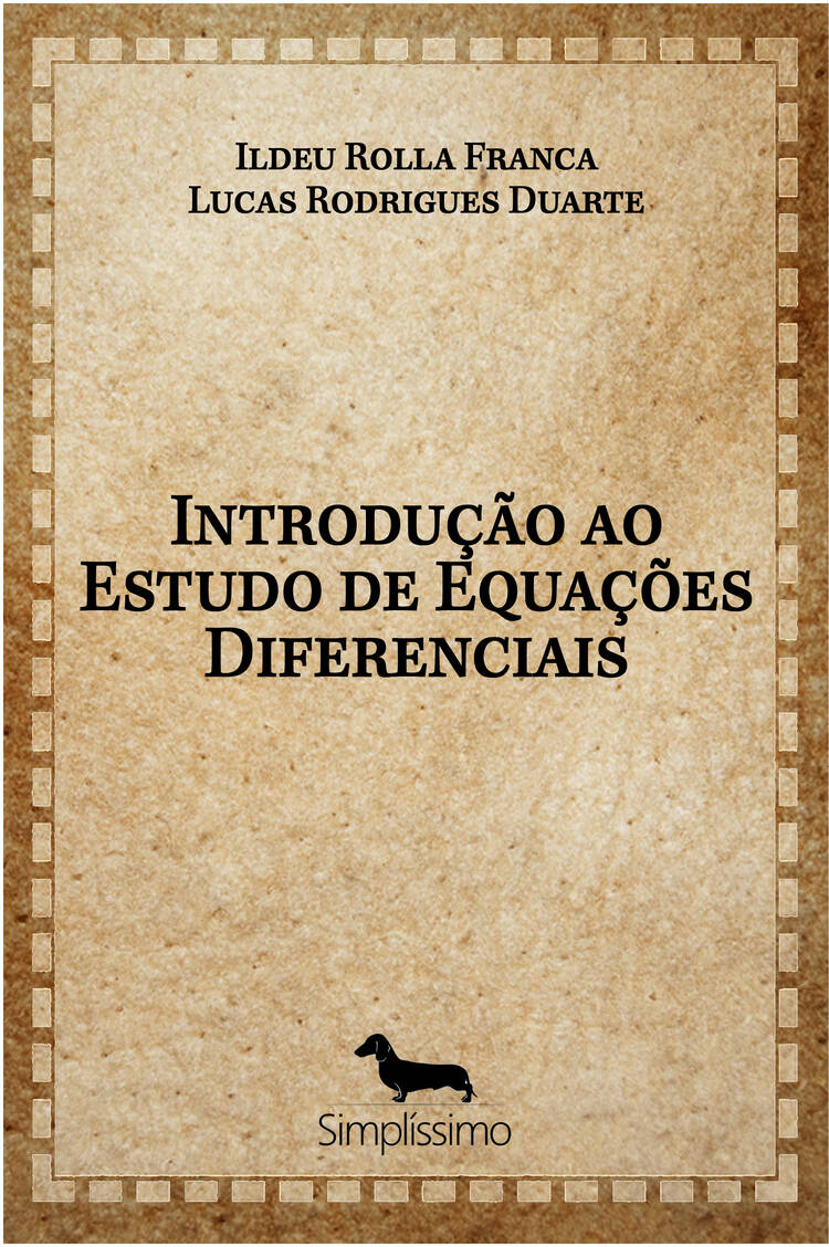 Capa do ebook Introdução ao Estudo de Equações Diferenciais