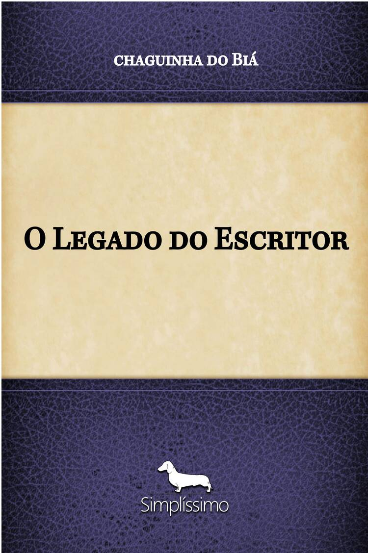 Capa do ebook O Legado do Escritor