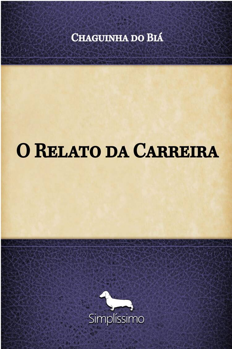 Capa do ebook O Relato da Carreira