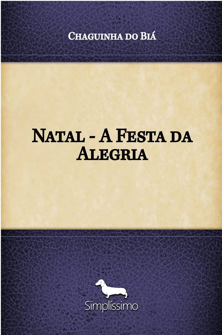 Capa do ebook Natal – A Festa da Alegria