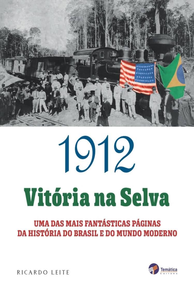 Capa do ebook 1912: vitória na selva
