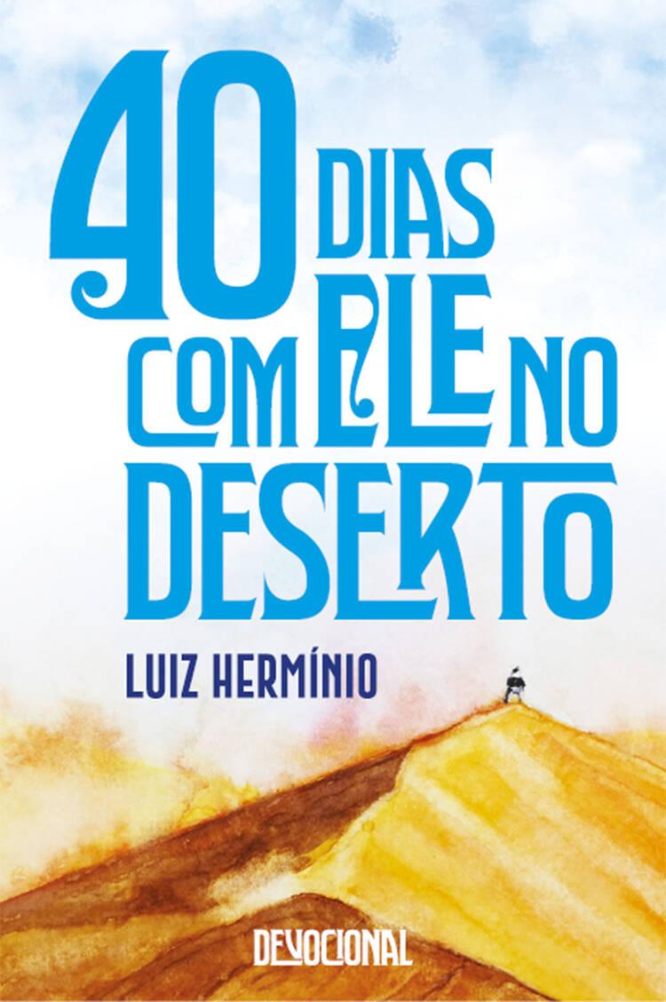 Capa do ebook 40 dias com Ele no Deserto