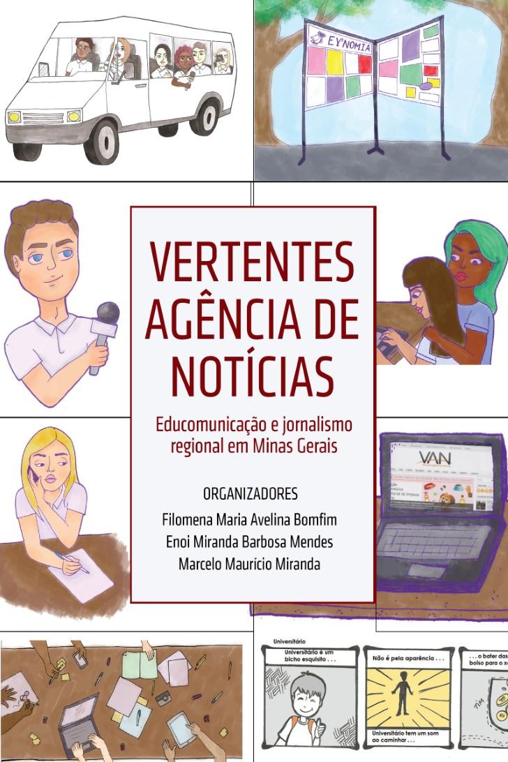 Capa do ebook Vertentes Agência de Notícias