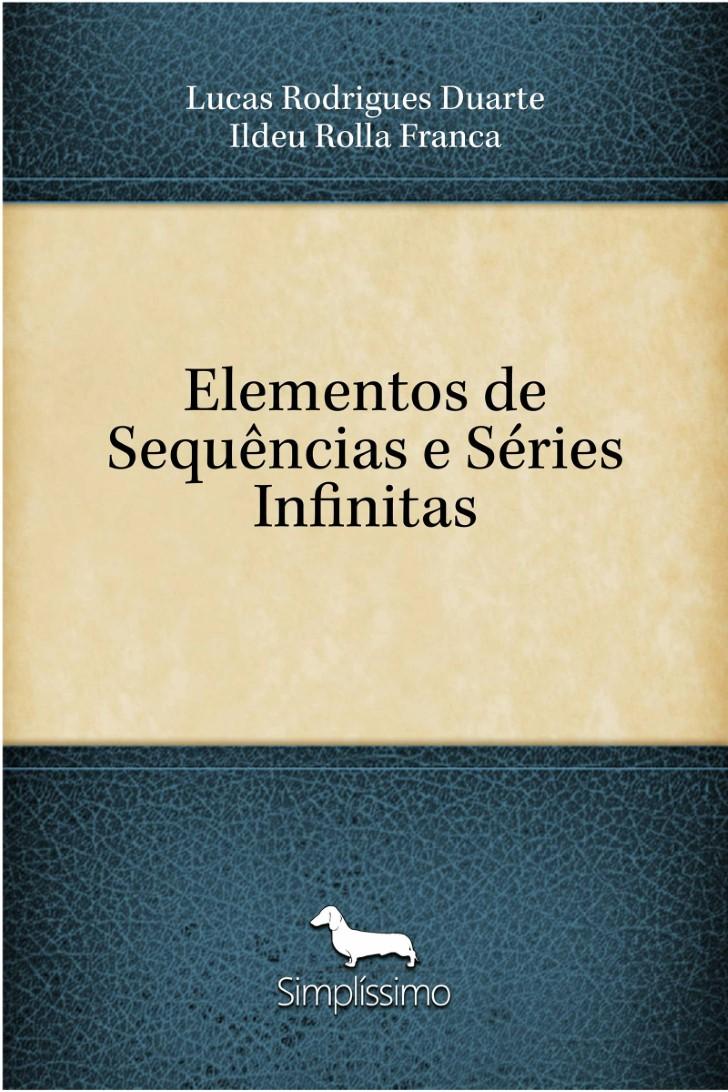 Capa do ebook Elementos de Sequências e Séries Infinitas