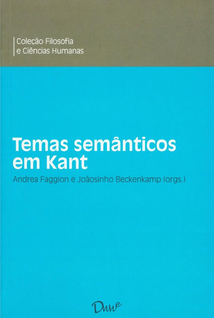 Capa do ebook Temas semânticos em Kant