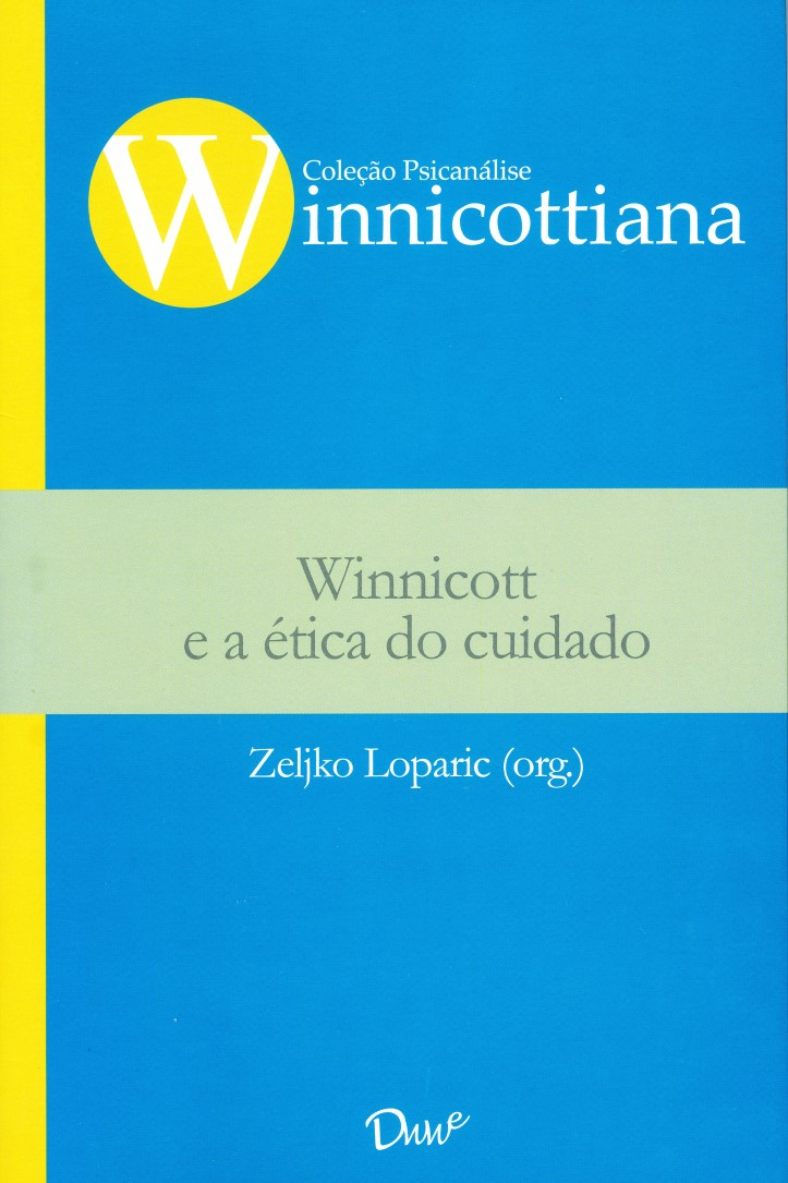 Capa do ebook Winnicott e a ética do cuidado