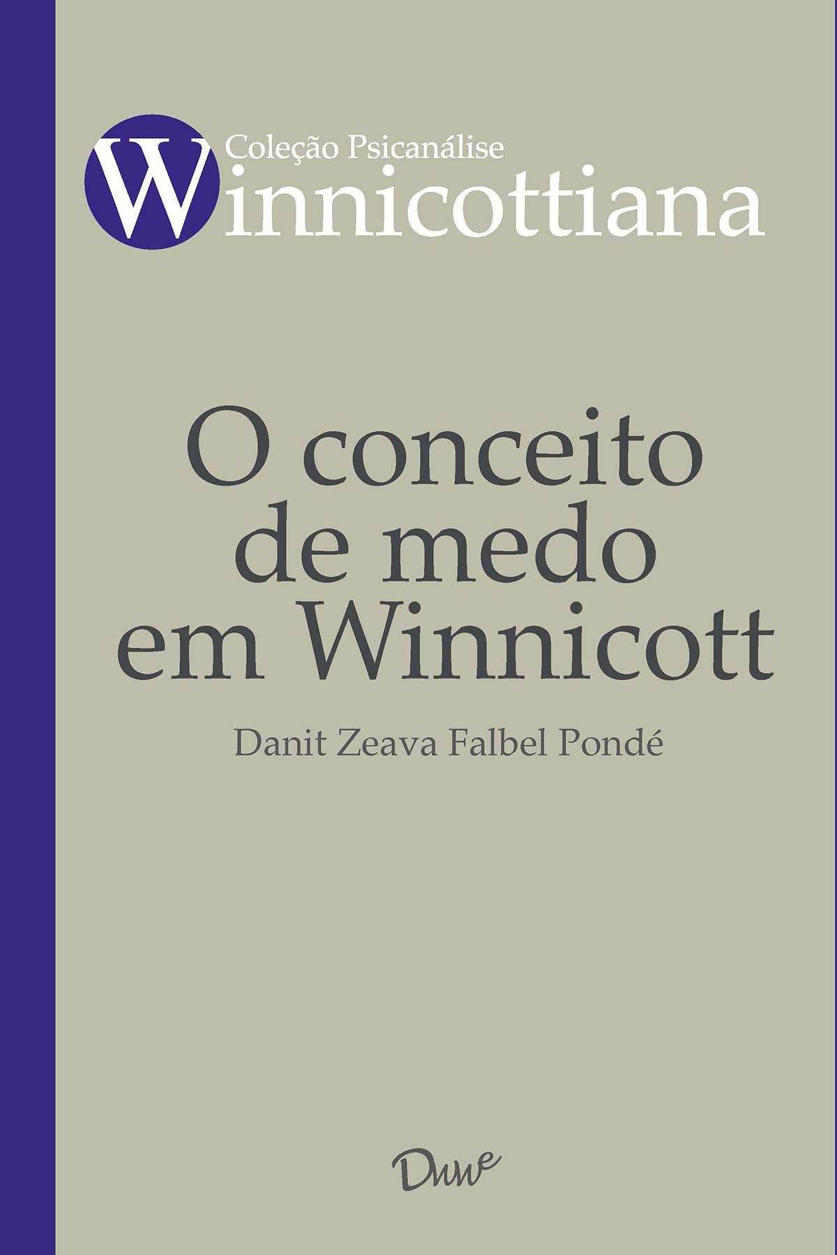Capa do ebook O conceito de medo em Winnicott