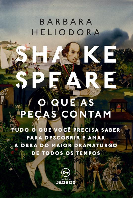 Capa do ebook Shakespeare: o que as peças contam