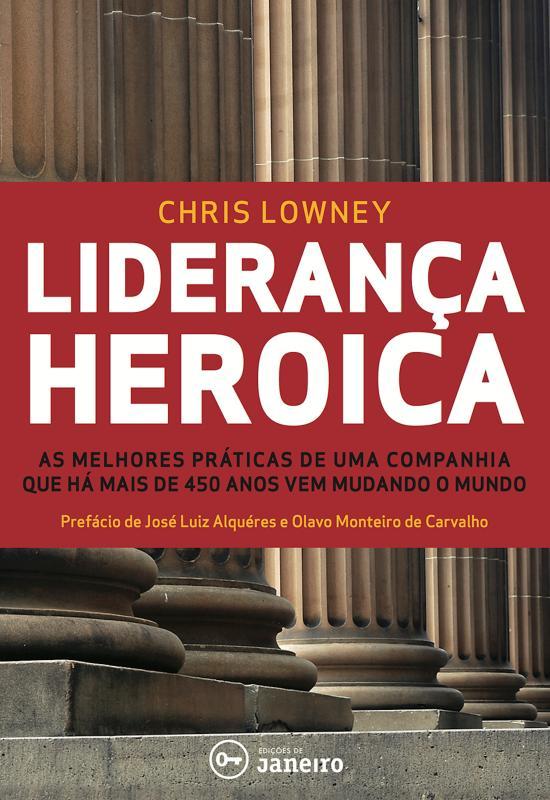 Capa do ebook Liderança heróica