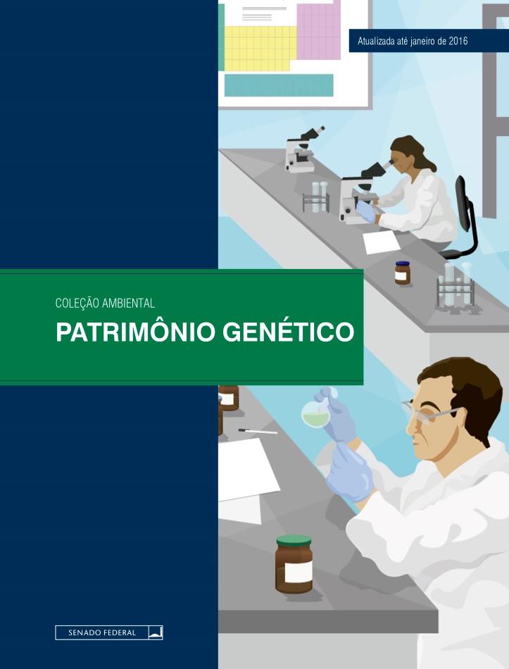 Capa do ebook Patrimônio genético