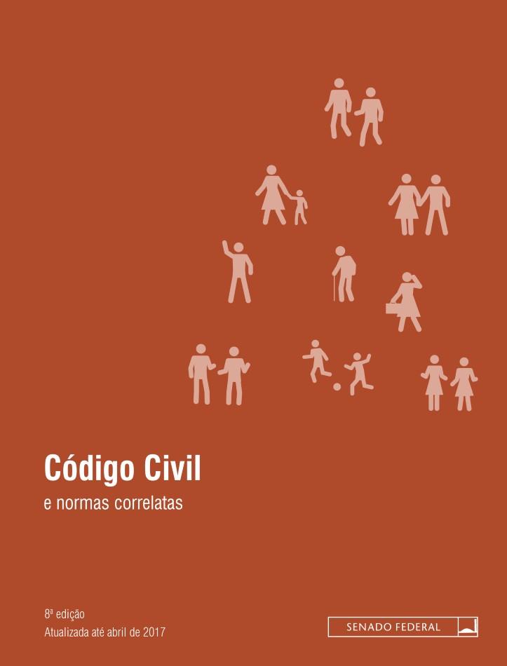 Capa do ebook Código civil