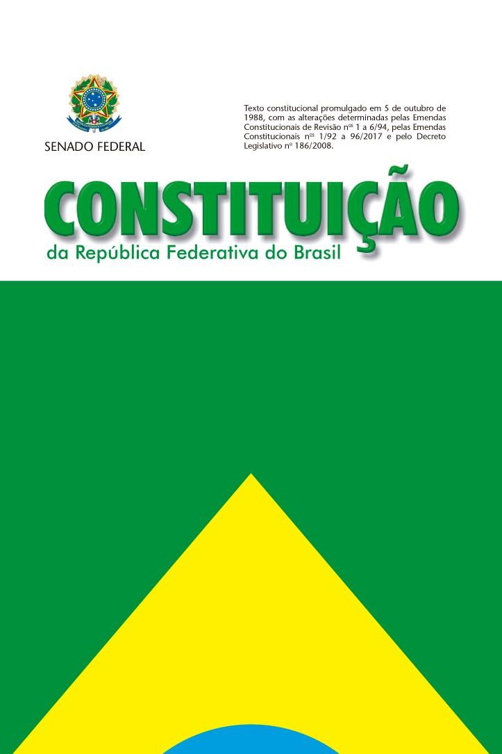 Capa do ebook Constituição da República Federativa do Brasil de 1988