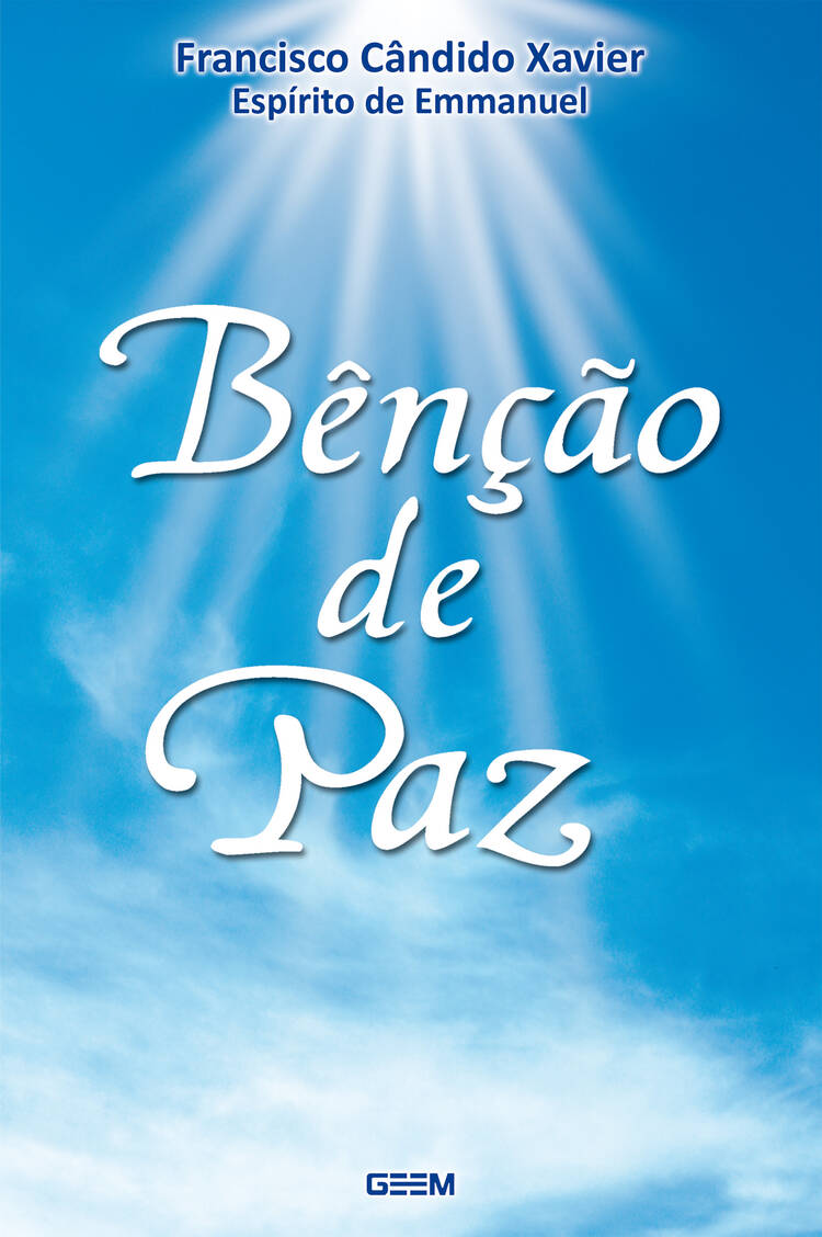 Capa do ebook Bênção de Paz
