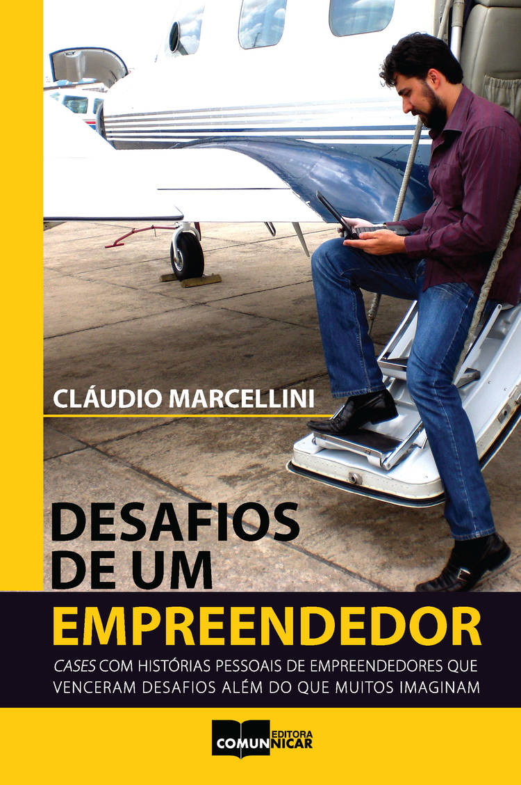 Capa do ebook Desafios de um empreendedor