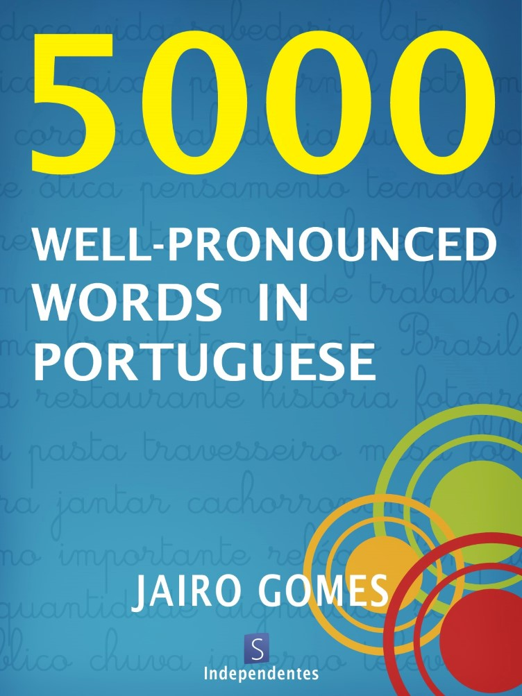 Capa do ebook 5000 well-pronounced words in Portuguese