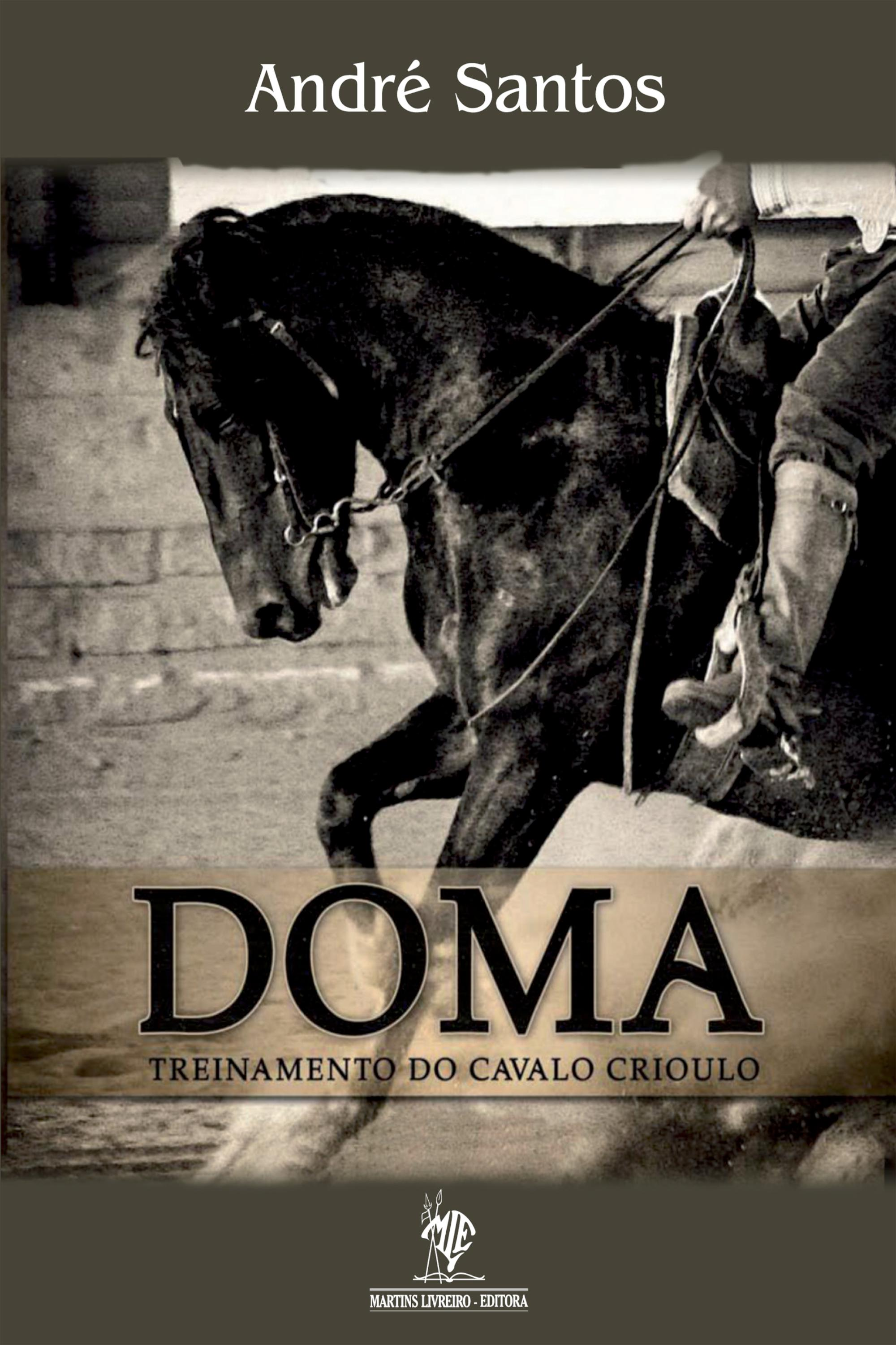 Capa do ebook Doma e Treinamento do Cavalo Crioulo