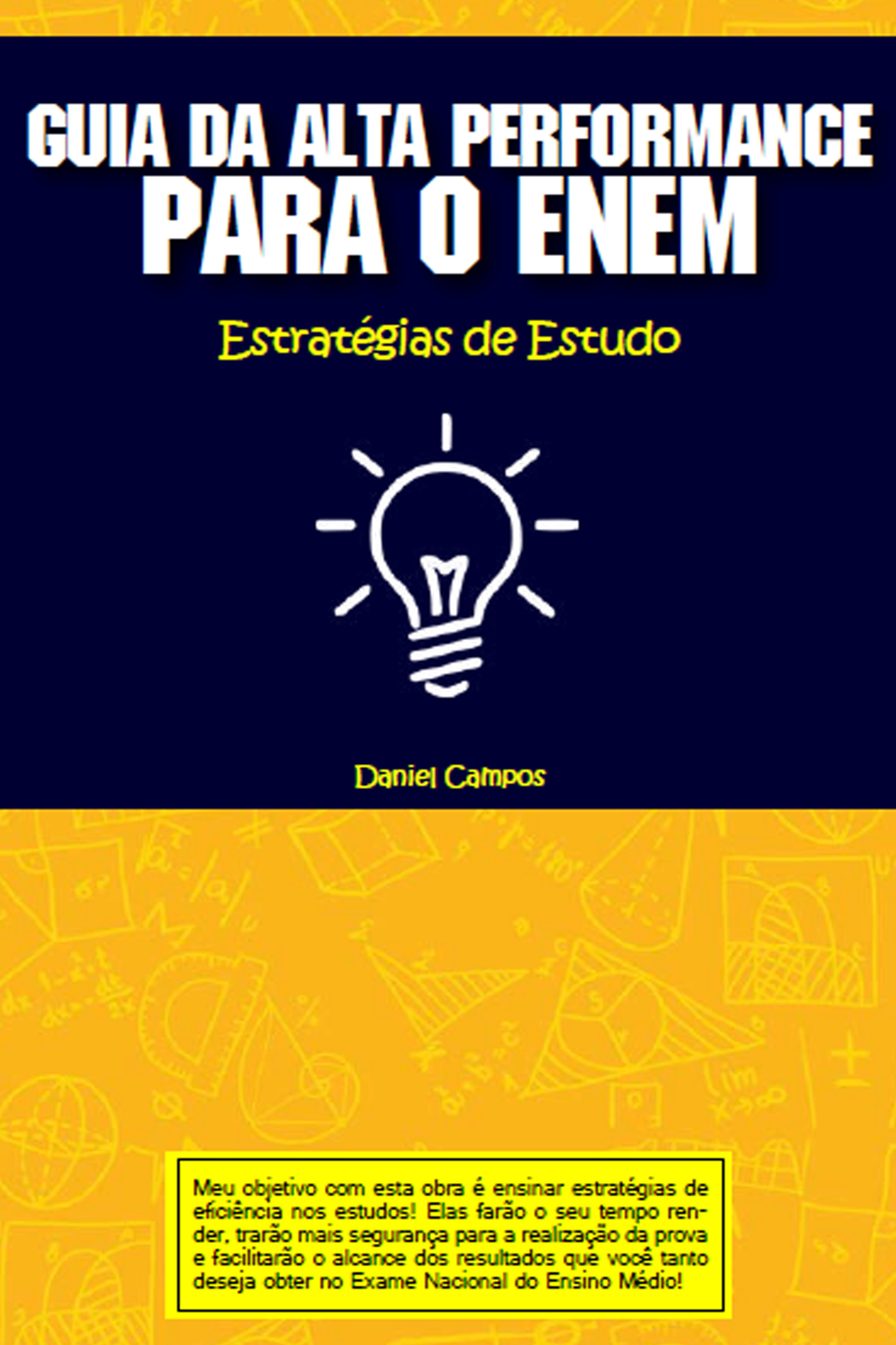 Capa do ebook Guia da Alta Performance para o ENEM