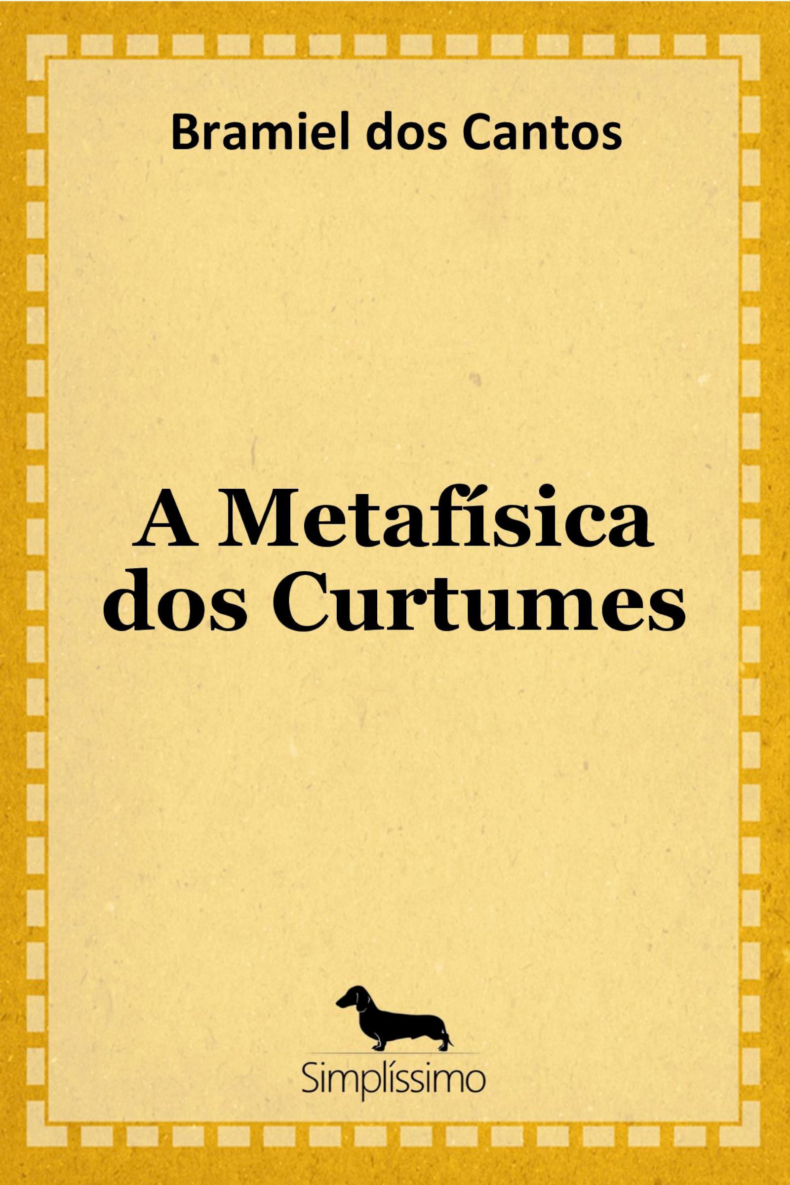 Capa do ebook A Metafísica dos Curtumes