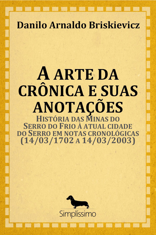 Capa do ebook A ARTE DA CRÔNICA E SUAS ANOTAÇÕES