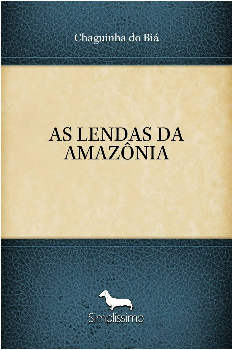 Capa do ebook AS LENDAS DA AMAZÔNIA