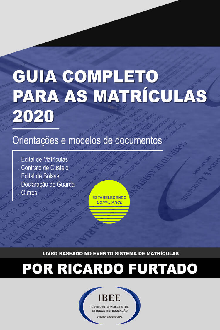 Capa do ebook Guia completo para as matrículas 2020
