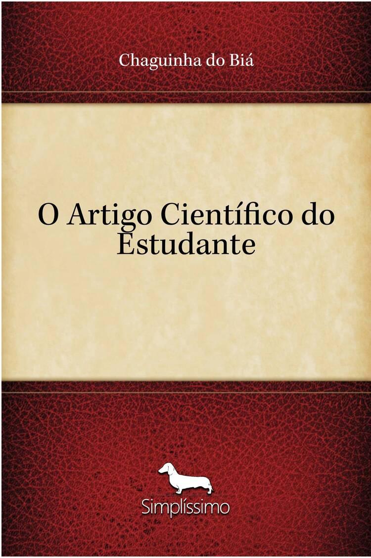 Capa do ebook O Artigo Científico do Estudante