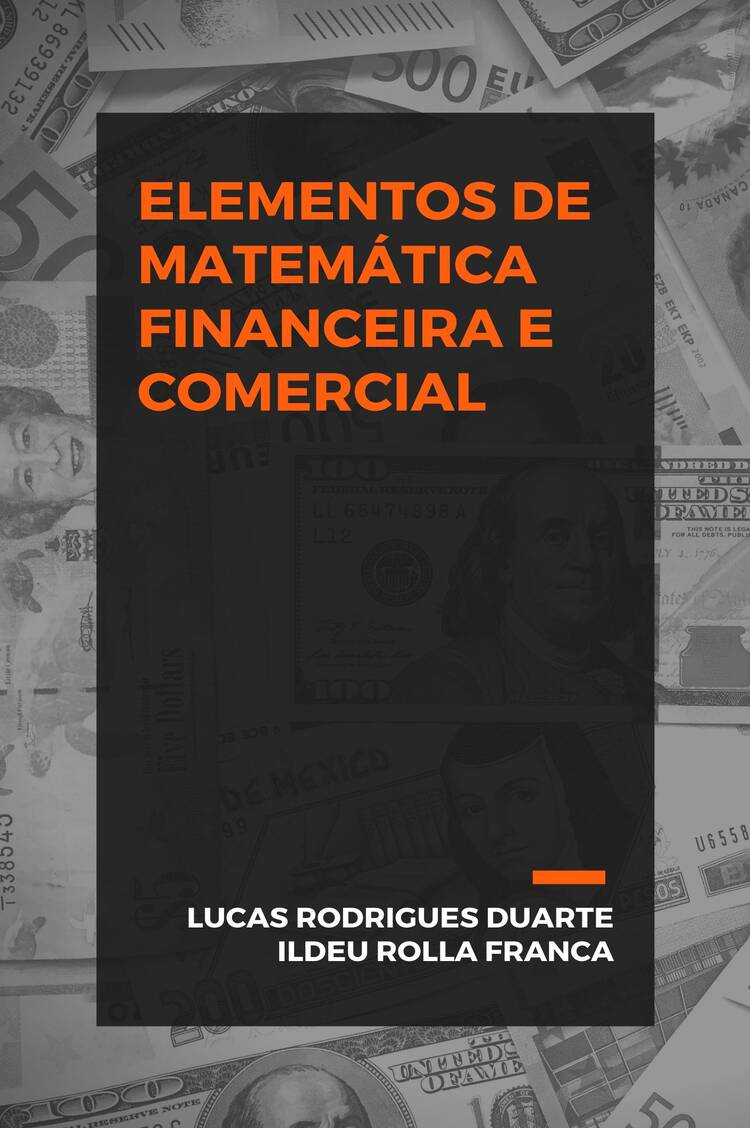 Capa do ebook Elementos de Matemática Financeira e Comercial