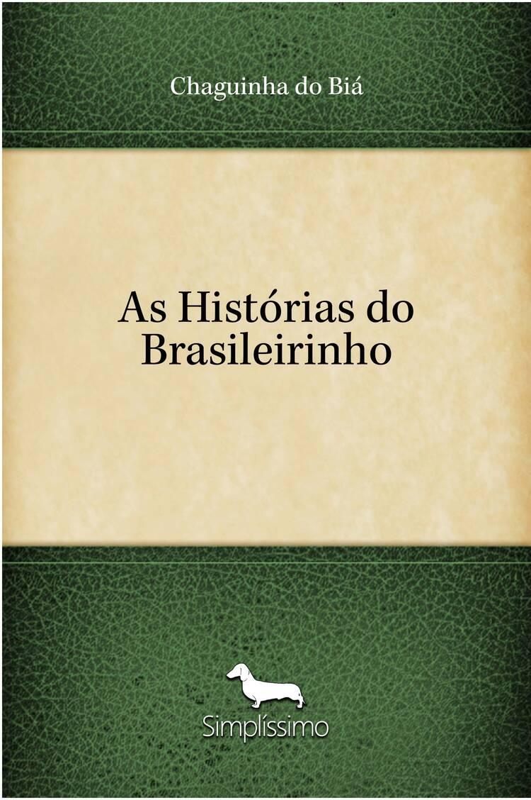 Capa do ebook As Histórias do Brasileirinho
