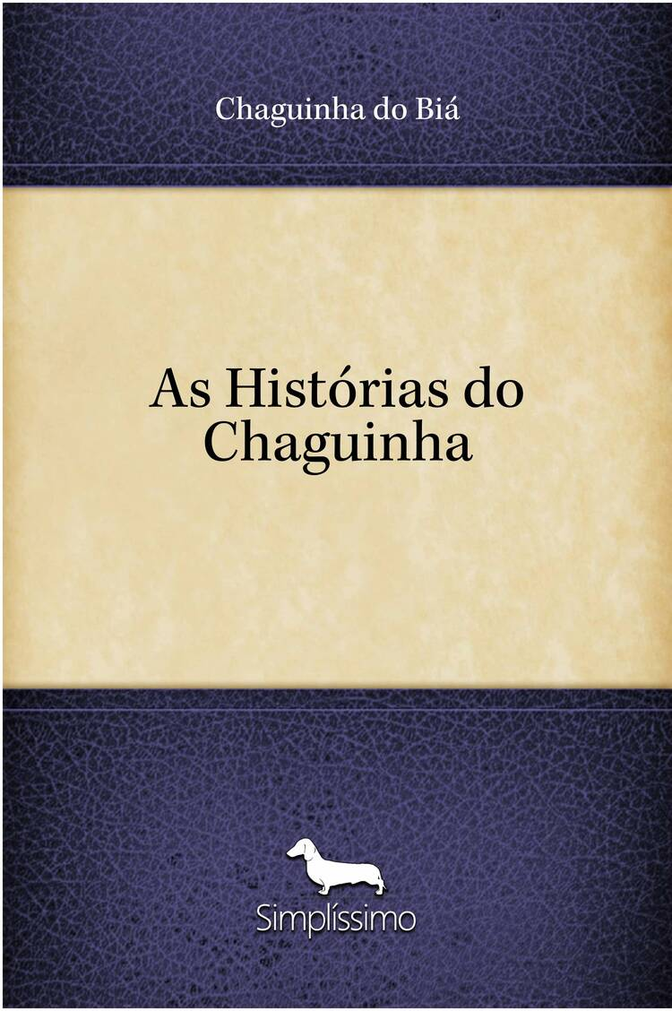 Capa do ebook As Histórias do Chaguinha