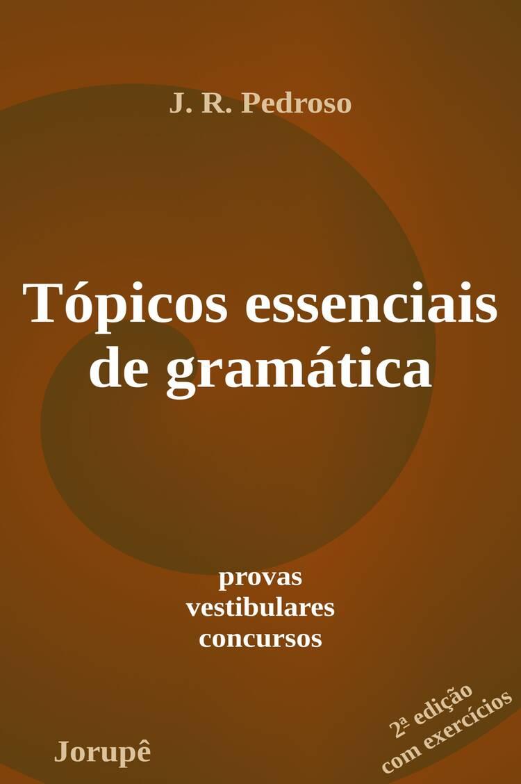 Capa do ebook Tópicos essenciais de gramática