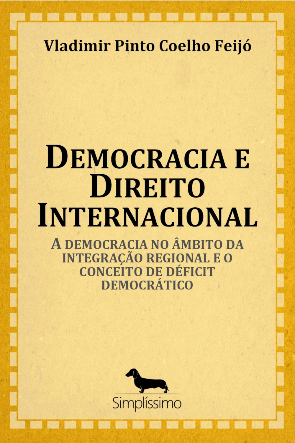 Capa do ebook Democracia e Direito Internacional