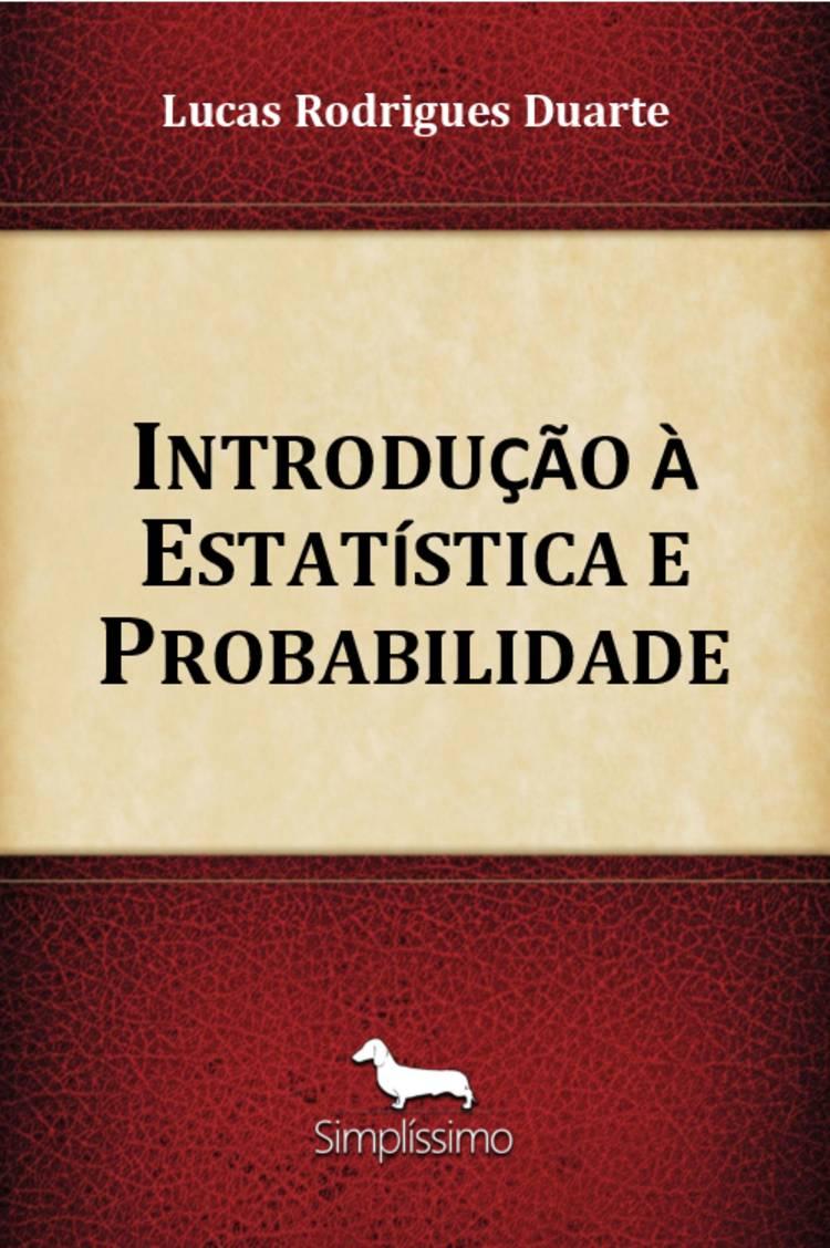 Capa do ebook Introdução à Estatística e Probabilidade